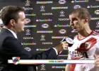Iván Alonso tuvo que retransmitir su propio gol