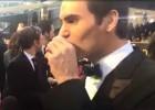 Federer se paseó por la alfombra roja y tomó tequila