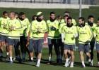 El Madrid se preparó de cara al duelo con el Levante