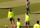 Pepe se burla de Cristiano en el rondo:
