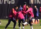 Neymar y Suárez se divierten a costa de Masche: ¡vaya 'paliza'!