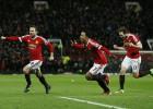 El United vence y regresa a la disputa por la Champions