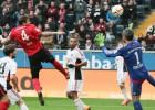 La asistencia de Marco Fabián que salvó al Eintracht