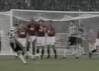 El libre directo extraordinario de Zidane contra el Roma