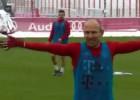 El espectacular golazo del Bayern Munich en la práctica