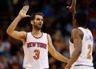 La noche más mágica de Calderón con los Knicks