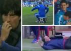 7 escenas surrealistas vistas en un banquillo de fútbol