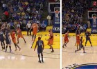Curry Vs. Knight: siete triples cada uno en un duelo estelar