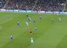 Sociedad Silva-Agüero-Touré: genial dejada y mejor pared
