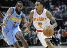 Atlanta Hawks se lleva la victoria ante los Nuggets