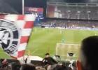Hinchas del Atlético y del Nápoles comparten cántico