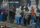 Los ultras del Marsella intentan invadir el Velodrome
