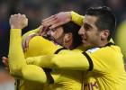 Remontada del Borussia sin goles de Aubameyang