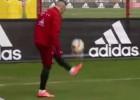 Los increíbles malabares de Ribéry en práctica del Bayern