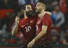 Turquía gana a Suecia con Arda Turan como protagonista