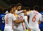 España no convence, pero Aduriz y De Gea sí lo hacen