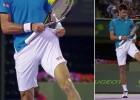 El truco de Djokovic arrasa en las redes: ¡Bola al bolsillo!