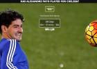 Una web cuenta lo que lleva Pato sin debutar en el Chelsea