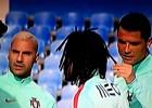 Cristiano y Quaresma se rieron del pelo de Renato Sanches