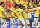 Gran partido de James y Bacca en el triunfo ante Ecuador