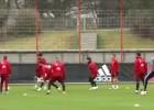 ¡Impresionante 'tontito' de 70 toques en práctica del Bayern!