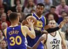 Los Warriors sufren pero también salen vivos de Utah