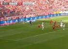 Ribery ha regresado: se sacó una tijereta para enmarcar