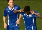Así fueron los tantos de Junior y Henríquez en el Dinamo
