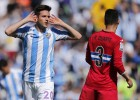 El Málaga salva un punto ante un Espanyol que aún sufrirá