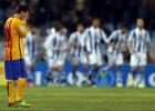 La Real pone la Liga en un puño ante un Barça muy pobre