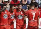 Riera penaliza la relajación del Sevilla y rescata al Deportivo