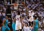 Los Hornets se llevan una paliza tremenda en Miami