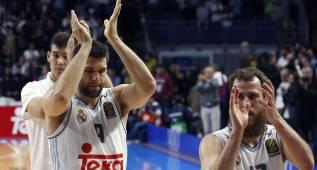 Emotivo: la afición del Madrid ovacionó a los jugadores
