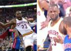 Puro LeBron James: del mate brutal a la chulería a Morris