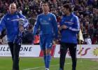 La última lesión de Cristiano fue frente al Almería