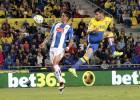 Enzo Roco y su 'casi autogol' en derrota ante Las Palmas