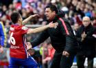 El talento de Correa despierta al Atlético contra el Málaga