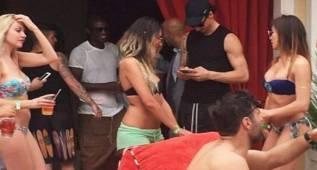 Así fue la fiesta de Ibrahimovic: desmadre total en Las Vegas