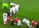 En Alemania celebran a su estilo: ¡Conga desde el suelo!
