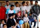 Así fue la emotiva visita de la UC a niños enfermos de cáncer