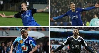 ¿Dónde estaban las estrellas del Leicester hace 5 años?