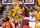 LeBron James sella el triunfo de los Cavs ante los Hawks