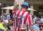 La afición del Manchester City se pasa al Atlético de Madrid