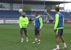Casemiro y Benzema vuelven al grupo en el 'entreno'