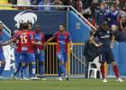 El Atleti se cae de la lucha por la Liga en el Ciutat de Valencia