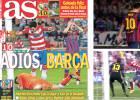 ¿Se repetirá? El Barça perdió la Liga de 2014 en Granada