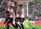 El Sunderland golea y el Newcastle de Benítez baja