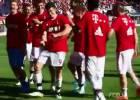 El baile con que Lewandowski lideró los festejos del Bayern