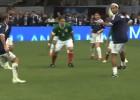 El pase sin mirar de Ronaldinho: ¡clase a raudales!