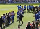 El Vine del emotivo pasillo que le hicieron a Ranieri